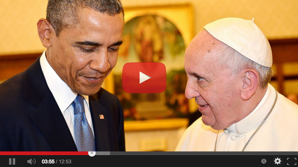 Obama Pope Cover-Up