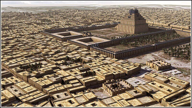 What did the cities of sumer look like 10